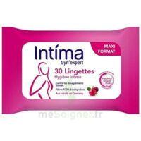 Intima Gyn'expert Lingettes Cranberry Paquet/30 à Pessac