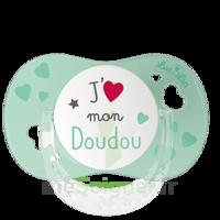 """Luc et Léa Sucette physiologique +6mois spécial bébé allaité """"J'aime mon Doudou"""" à Pessac"""