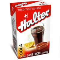 Halter Bonbon Sans Sucre Cola B/40g