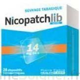 NICOPATCHLIB 14 mg/24 h Dispositifs transdermiques B/28 à Pessac