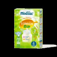 Modilac Céréales Farine 5 Céréales bio à partir de 6 mois B/230g à Pessac