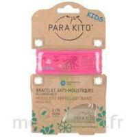 Para'kito Kids Bracelet Répulsif Anti-moustique Rose Pieuvre à Pessac