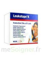 LEUKOTAPE K Sparadrap noir 5cmx5m à Pessac