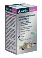 Biocanina Recharge pour diffuseur anti-stress chat 45ml à Pessac