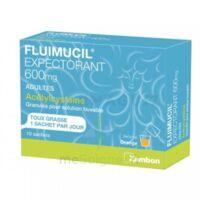 Fluimucil Expectorant Acetylcysteine 600 Mg Glé S Buv Adultes 10sach à Pessac
