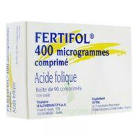 FERTIFOL 400 µg Cpr Plq/90 à Pessac
