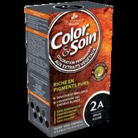 COLOR&SOIN Kit coloration permanente 2A brun azuré à Pessac