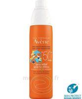 Avène Eau Thermale Solaire Spray Enfant 50+ 200ml à Pessac
