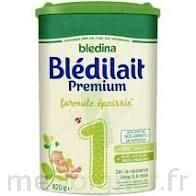Blédina Blédilait Premium 1 Lait En Poudre B/800g à Pessac