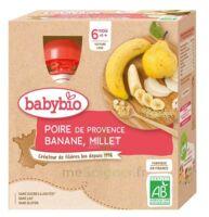 BABYBIO Gourde Poire Banane Millet à Pessac