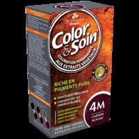 COLOR&SOIN Kit coloration permanente 4M châtain acajou à Pessac