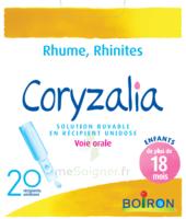 Boiron Coryzalia Solution Buvable Unidose B/20 à Pessac