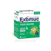 EXOMUC 200 mg granulés usage oral en sachet 15 Sachets/2g à Pessac