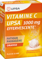 Vitamine C Upsa Effervescente 1000 Mg, Comprimé Effervescent à Pessac